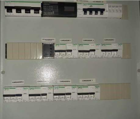 1 INSTALACION PARA CORREOS para 7 cargadores en linea - Inicio